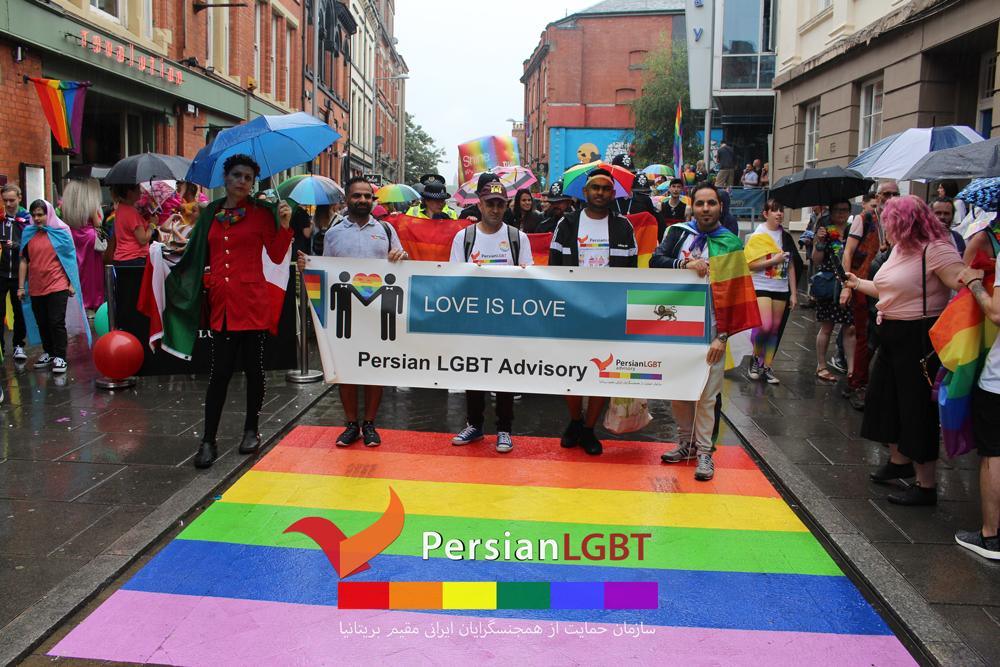 Asylum Seekers In Nottingham Pride Parade 2019