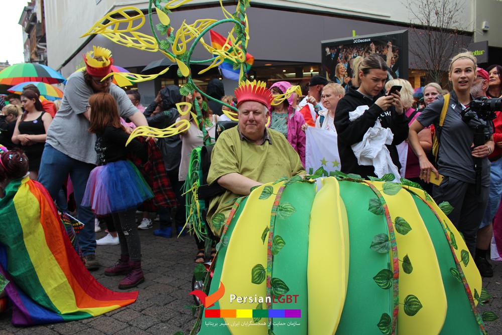 Nottingham pride 2019 parade - Persian LGBT